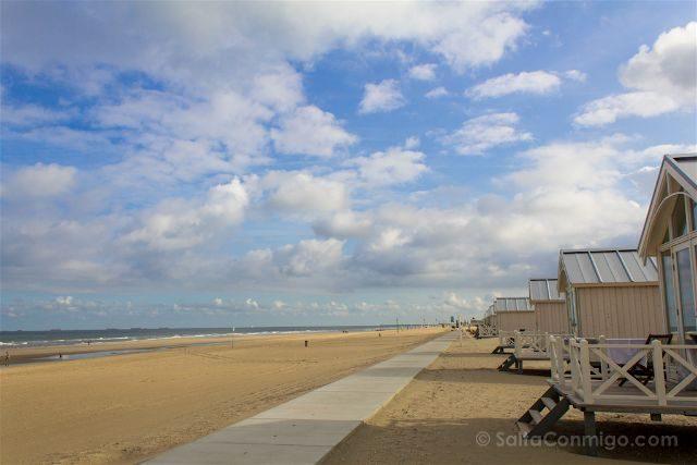 paises bajos holanda la haya kijkduin haagse strandhuisjes playa casitas