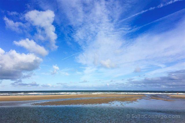 paises bajos holanda la haya kijkduin playa