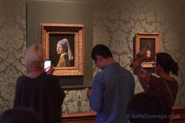 paises bajos holanda la haya maurithuis joven perla vermeer