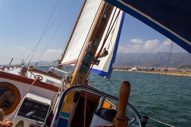 tarragona delta del ebro terres ebre navegando velero butterfly charters