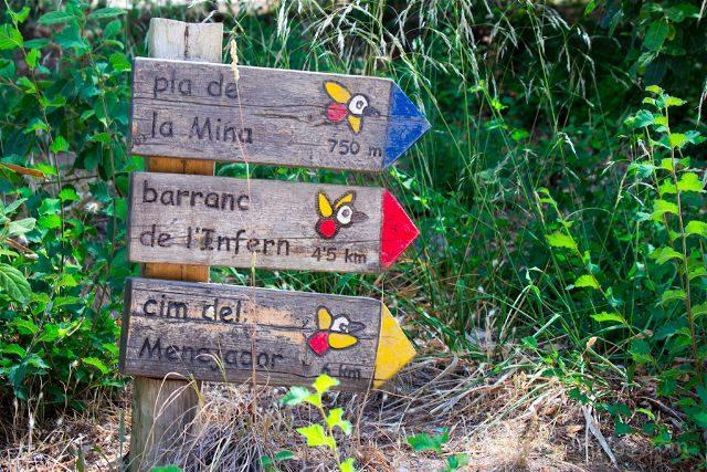 alicante-alcoy parque natural carrascal font roja rutas