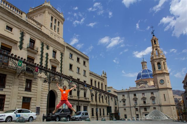 alicante alcoy plaza espanya bandeja salto