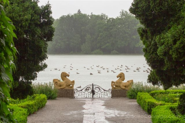 austria salzburgo escenarios sonrisas lagrimas palacio leopold leopoldskron lago