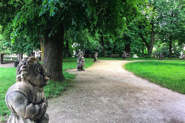 austria salzburgo escenarios sonrisas lagrimas palacio mirabell mirabellgarten enanos