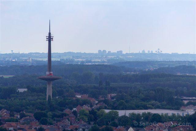 que ver en Malinas Flandes catedral torre san rumoldo vista