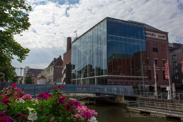 que ver en Malinas Flandes cerveceria lamot puente van beethoven