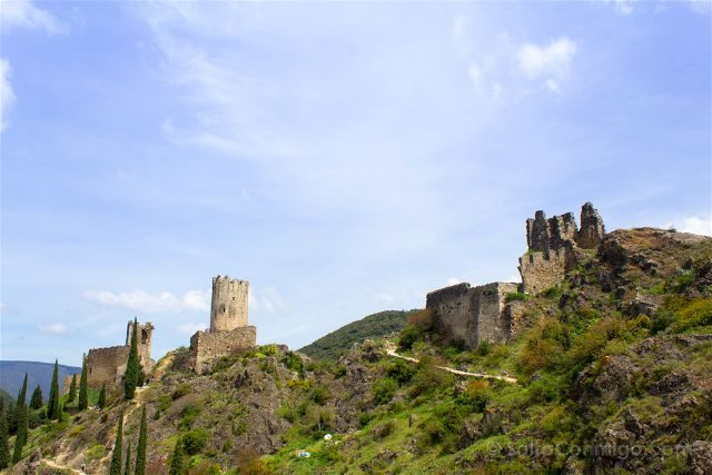 francia aude pais cataro castillo lastours panorama