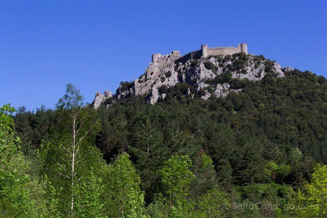 francia aude pais cataro castillo puilaurens panorama