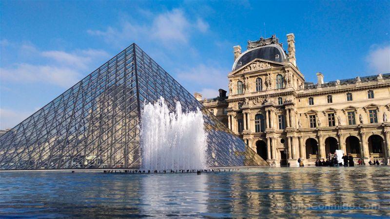 francia paris zenfone 3 asus louvre piramide cristal