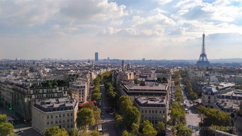 francia paris zenfone-3 asus torre eiffel arco del triunfo