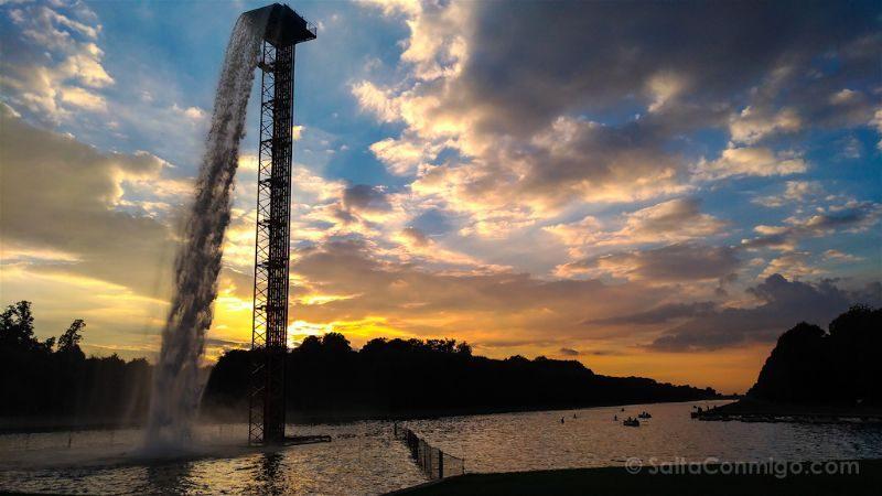 francia paris zenfone 3 asus versalles fuente puesta sol