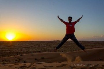 oman desierto salto