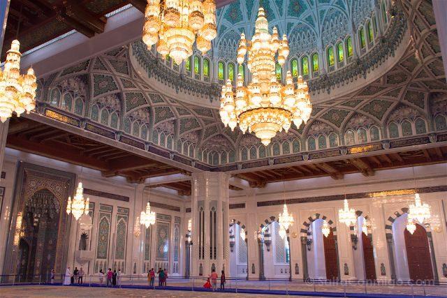oman mascate muscat gran mezquita sultan qaboos interior