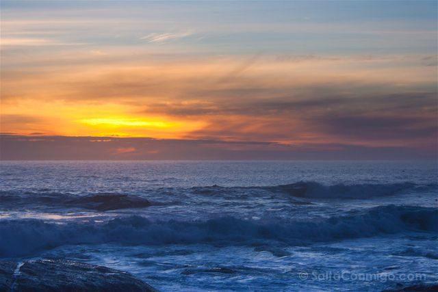 sudafrica ciudad del cabo cape town camps bay puesta sol