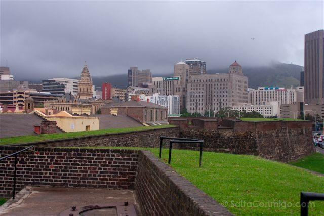 sudafrica ciudad del cabo cape town castillo murallas