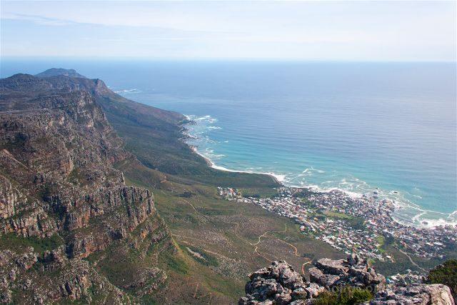 sudafrica ciudad del cabo cape town table mountain vista