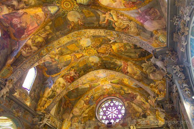 valencia parroquia san nicolas capilla sixtina valenciana frescos