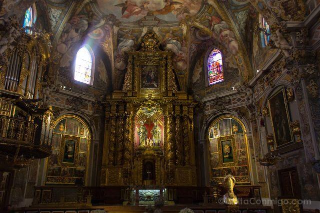 valencia parroquia san nicolas capilla sixtina valenciana frescos altar mayor