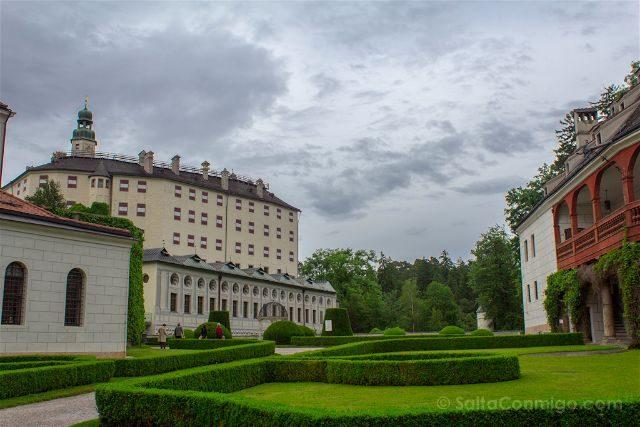 austria innsbruck castillo schloss ambras