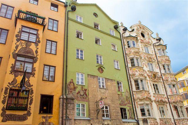 austria innsbruck herzog-friedrich-strasse katzunghaus helblinghaus