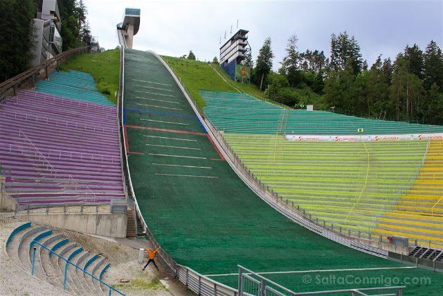 austria innsbruck trampolin saltos esqui bergisel
