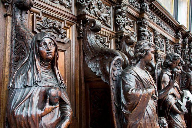 belgica flandes amberes iglesia san pablo sint-pauluskerk interior