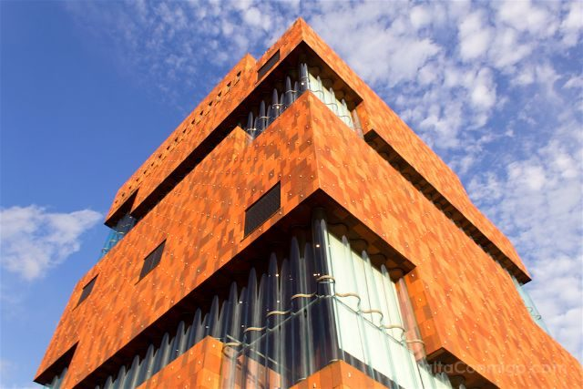belgica flandes amberes mas museum aan de stroom exterior