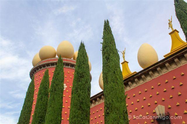 catalunya girona figueres teatro museo dali torre galatea