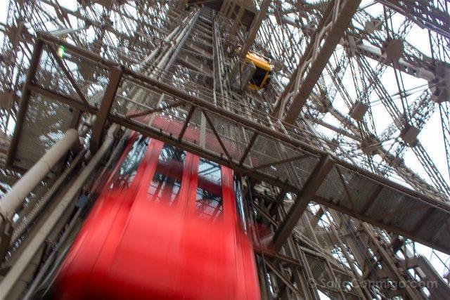 francia paris torre eiffel techo le jules verne ascensores