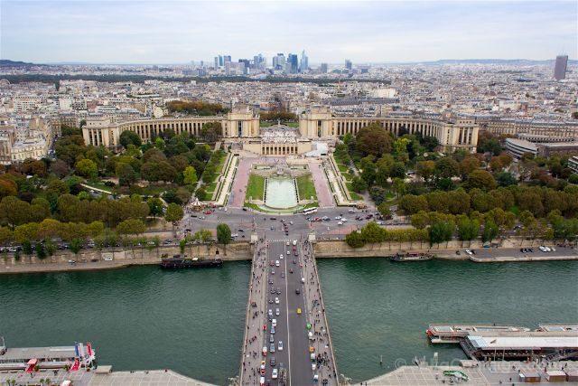 francia paris torre eiffel vista trocadero segunda planta
