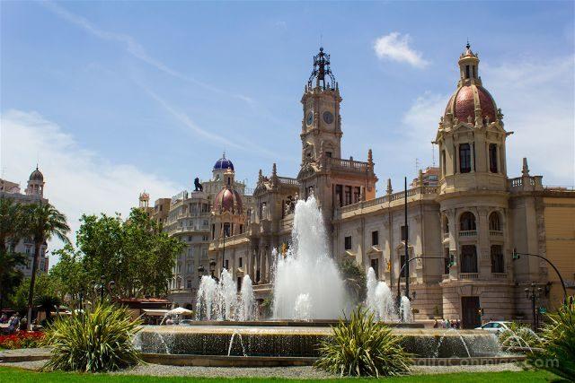 valencia plaza ayuntamiento