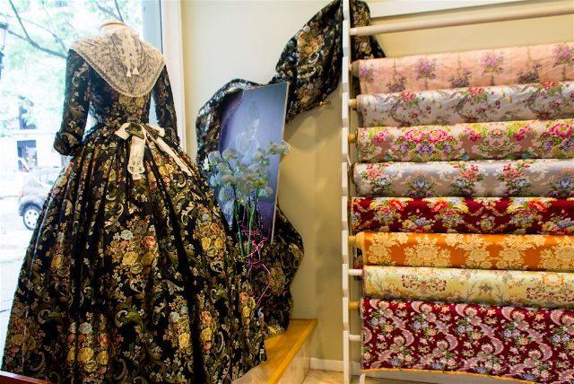 valencia ruta de la seda taller amparo fabra vestido fallera