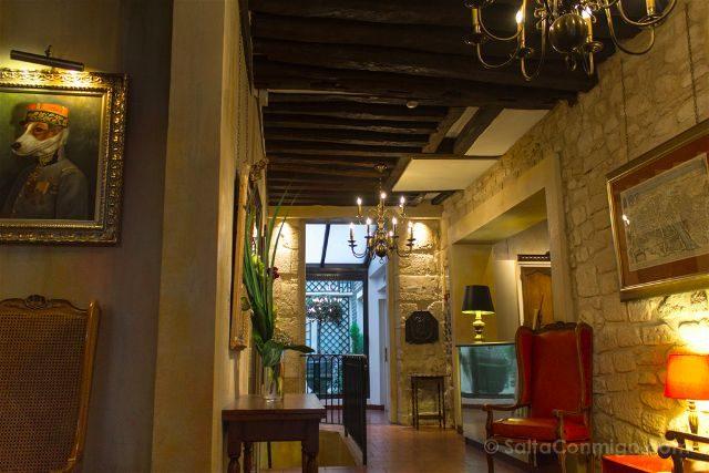 francia paris hotel saint paul rive gauche zona comun recepcion