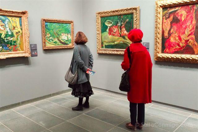 francia paris museo orangerie sala