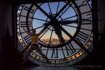 francia paris museo orsay vista sacre-coeur salto