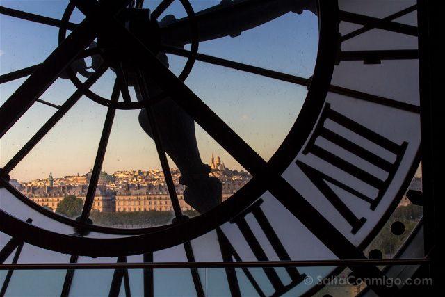 francia paris museo orsay vista sacre-coeur