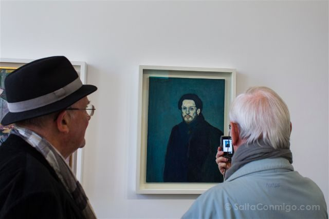 francia paris museo picasso gente