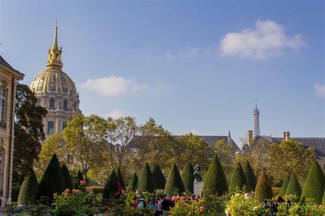francia paris museo rodin jardin invalidos eiffel