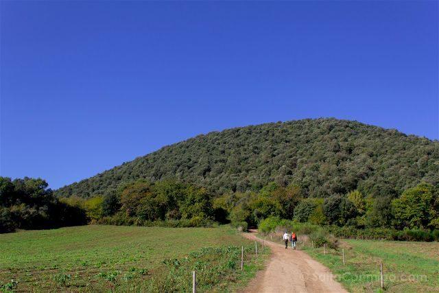girona garrotxa parque natural zona volcanica senderismo