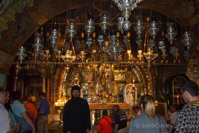 israel jerusalen iglesia santo sepulcro fieles ortodoxos