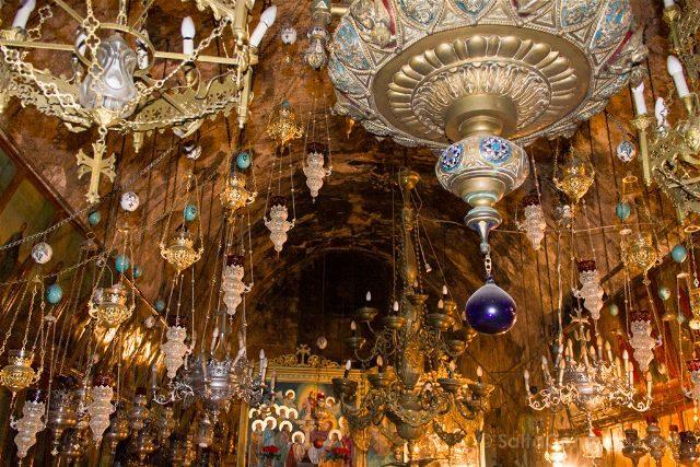 israel jerusalen monte de los olivos tumba de maria
