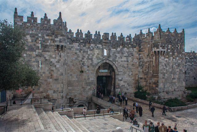 israel jerusalen puerta de damasco