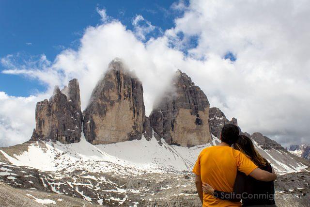 italia sudtirol alto adige tre cime di lavaredo abrazo