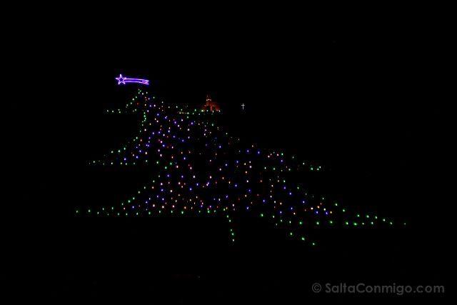 italia umbria gubbio arbol navidad mas grande del mundo