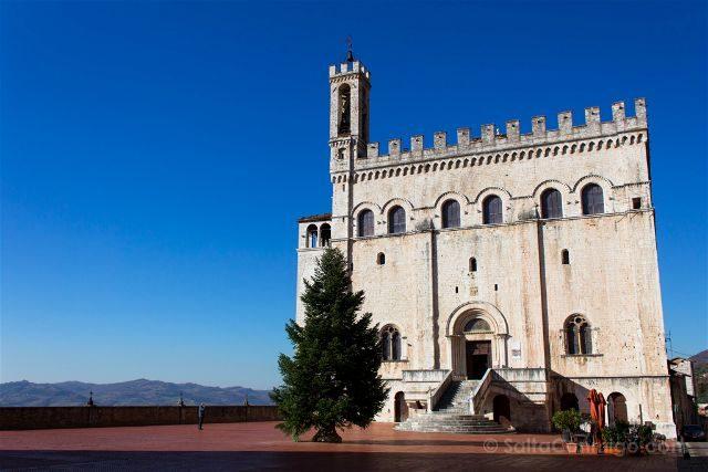 italia umbria gubbio palacio consoli