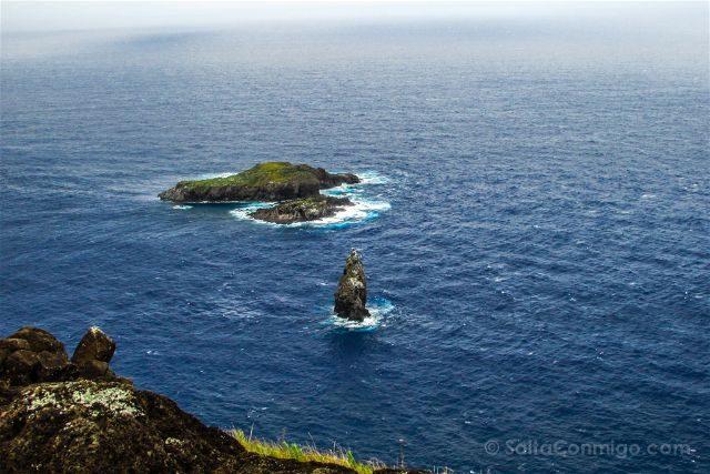 Chile Isla De Pascua Hombre Pajaro Motu Nui