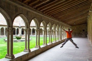 Francia Pays Catare Abadia Saint Hilaire Salto