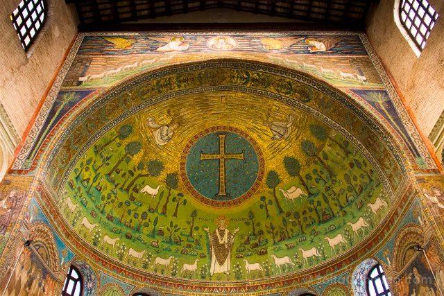 Italia Ravenna Mosaico San Apolinar Classe Abside