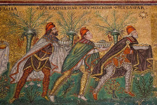Italia Ravenna Mosaico San Apolinar Nuevo Reyes Magos