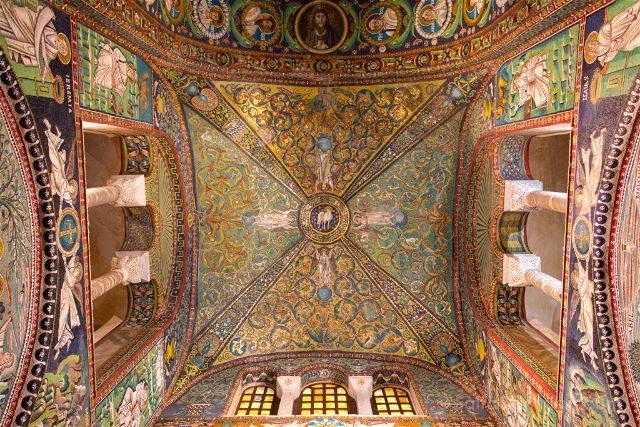 Italia Ravenna Mosaico San Vital Techo
